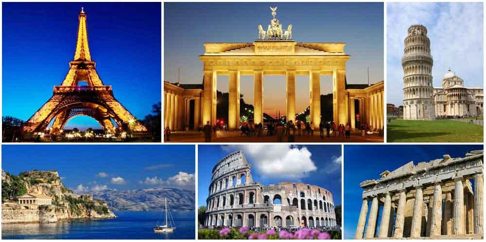 Visit Visa for Europe from Sydney, Australia